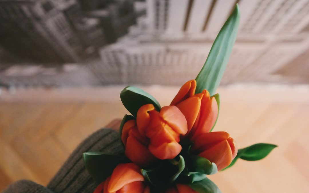 Flowers Boost Morale – They Really Do!